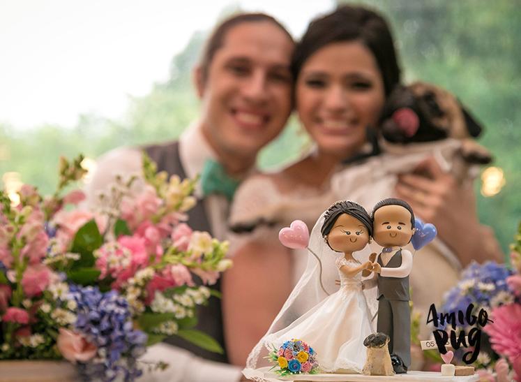 Casamento com Pug